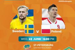 Trực tiếp Thụy Điển vs Ba Lan: Nỗ lực đến cùng