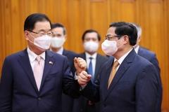 Thủ tướng: Sớm đưa kim ngạch thương mại Việt Nam-Hàn Quốc lên 100 tỷ USD