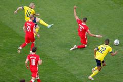 Thụy Điển 2-1 Ba Lan: Rượt đuổi nghẹt thở (H2)