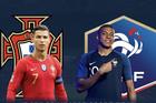 Bồ Đào Nha 0-0 Pháp: Ronaldo so tài Mbappe (H1)