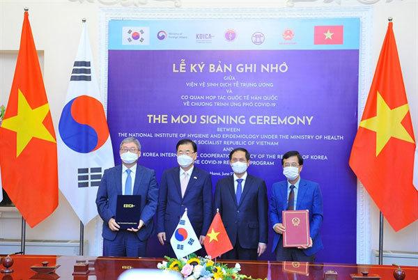 South Korea,Vietnam-Korea relations,Covid-19 vaccine