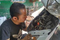 Đầu mùa bóng đá, rộ nạn mất trộm IC xe máy Honda