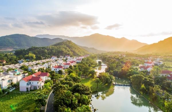 Biệt thự khu tây Hà Nội hút nhà đầu tư