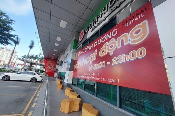 Dỡ bỏ phong tỏa siêu thị Big C Bình Dương và Đồng Nai sau một tuần