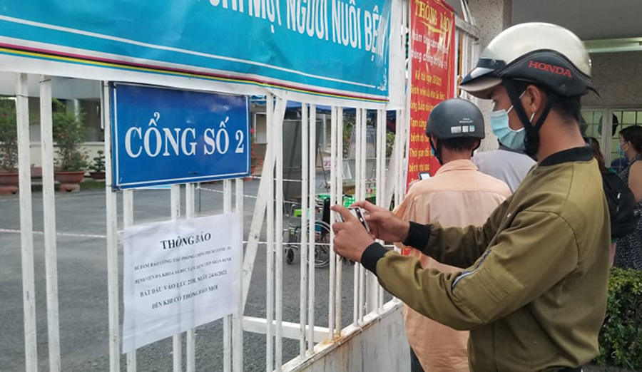 Phát hiện ca dương tính nCoV, Đồng Tháp phong tỏa Bệnh viện Sa Đéc