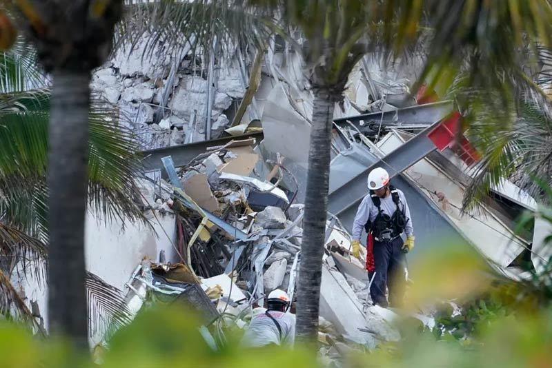 Sập chung cư ở Mỹ: Cưa chân nạn nhân để lôi khỏi đống đổ nát
