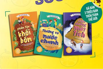 Bộ sách dạy trẻ cách giải quyết xung đột,toán học và kinh doanh