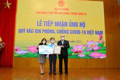 Fubon Life Việt Nam góp 1 tỷ đồng vào Quỹ vắc xin phòng, chống Covid-19