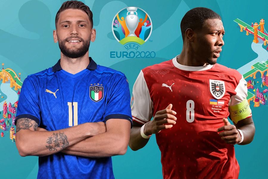 Xem trực tiếp Italy vs Áo ở kênh nào?