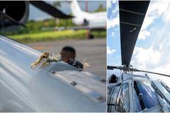 Máy bay chở Tổng thống Colombia bị bắn