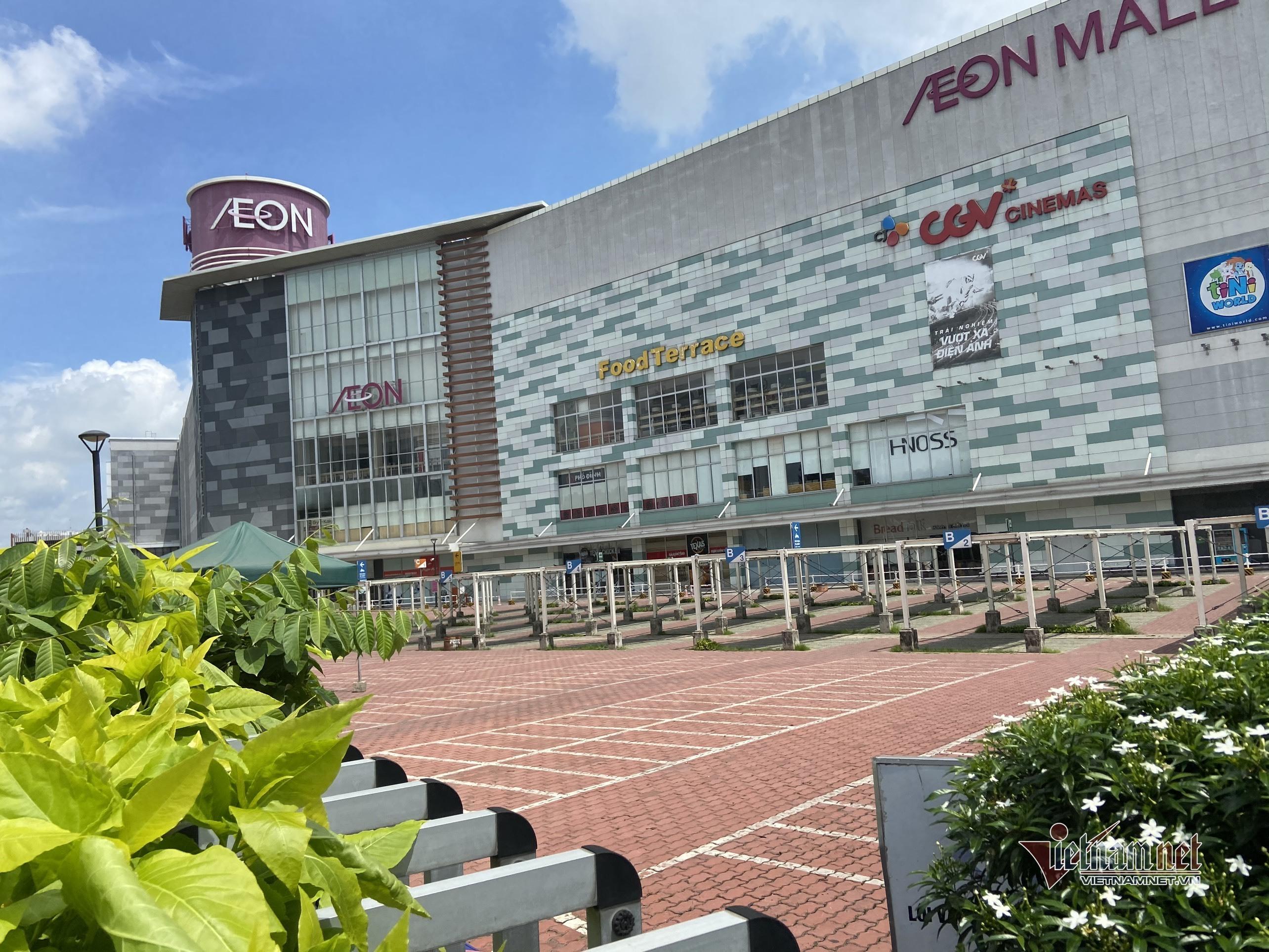 Aeon Mall Tân Phú đóng cửa vì liên quan ca nghi nhiễm Covid-19