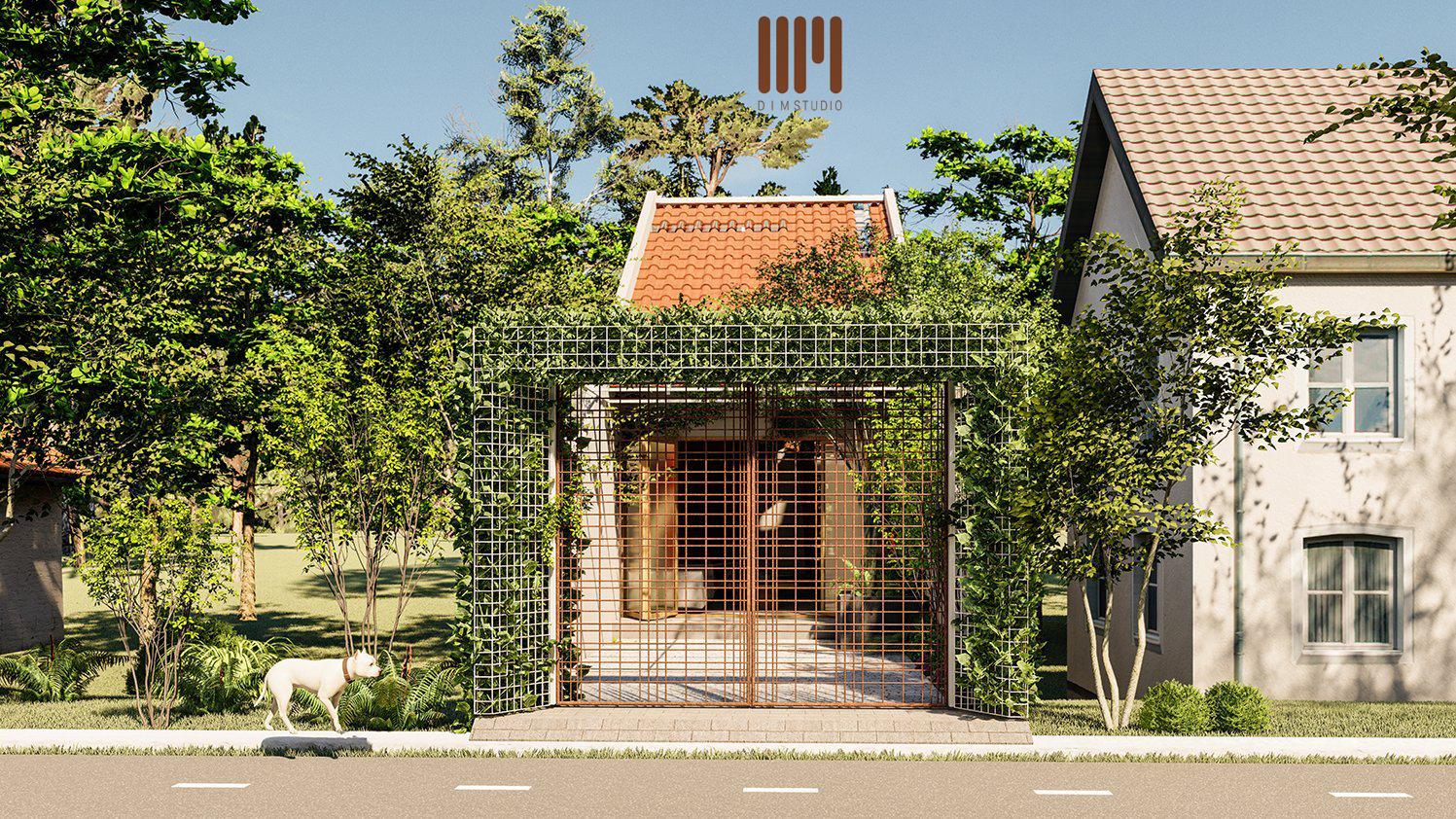 Nhà cấp 4 nhỏ xinh ở Lâm Đồng có phòng thờ 'độc nhất, vô nhị'