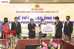 Honda Việt Nam góp 12 tỷ đồng vào Quỹ vắc xin phòng, chống Covid-19
