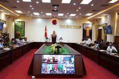 Bí thư Bình Thuận yêu cầu các trường hợp F1 họp HĐND trực tuyến
