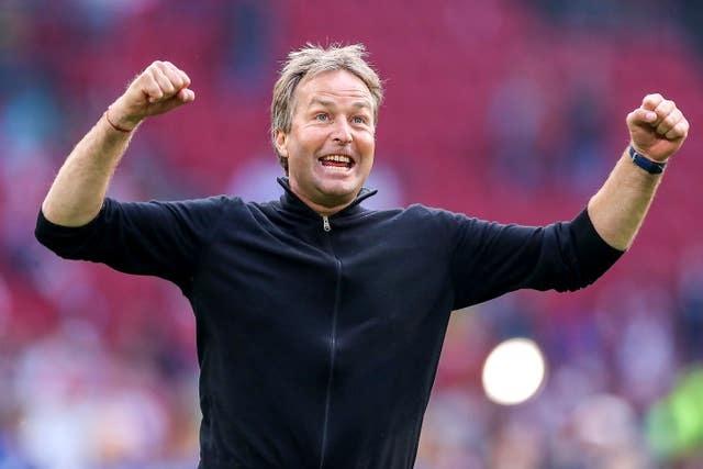 HLV Hjulmand: 'Eriksen đã cùng Đan Mạch chiến thắng Xứ Wales'