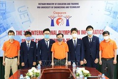 All four Vietnamese students win silver at Int'l informatics Olympiad