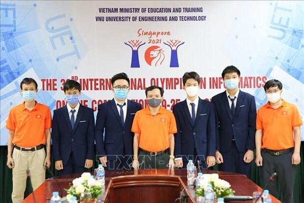 Int'l informatics Olympiad,Covid-19,Vietnamese students