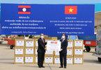 Việt-Lào 'hạt muối cắn đôi, cọng rau bẻ nửa' trong đại dịch Covid-19