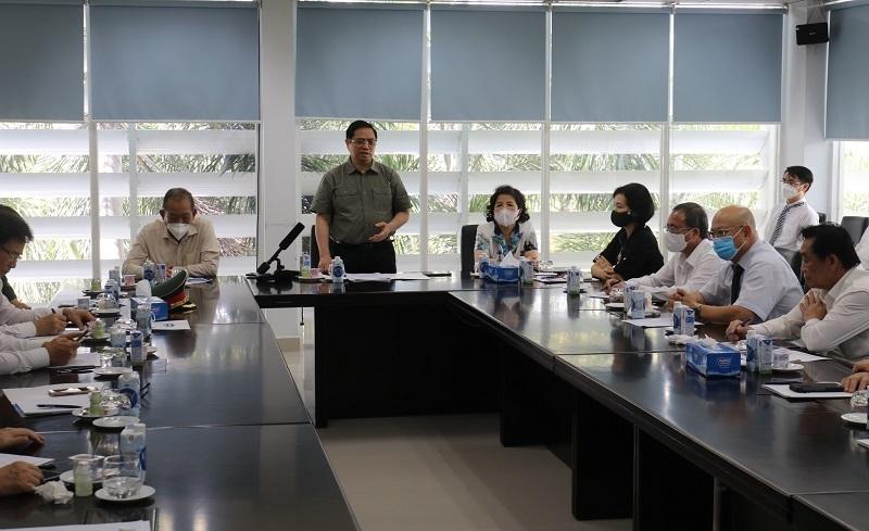 Kiểm tra tại Bình Dương, Thủ tướng yêu cầu không để lây nhiễm chéo tại bệnh viện