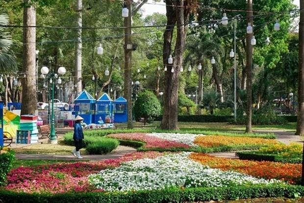 green works,HCM City,parks