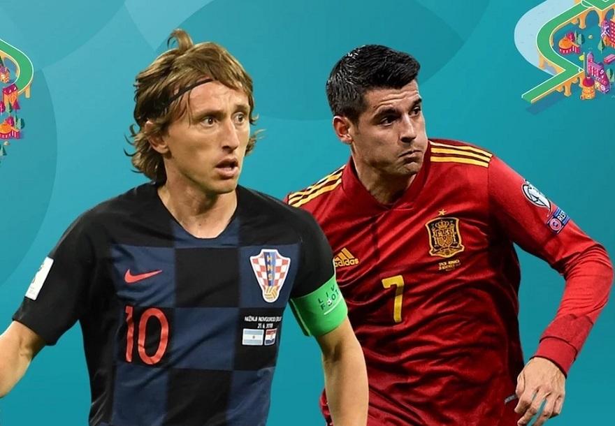 Xem trực tiếp Croatia vs Tây Ban Nha ở kênh nào?