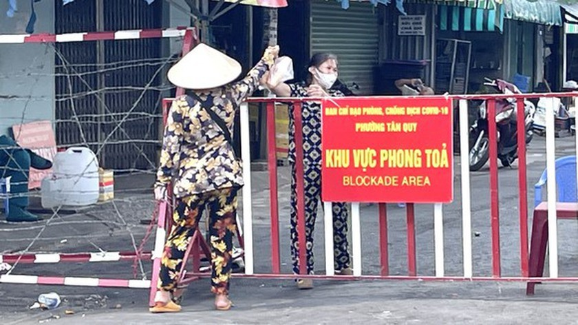 F1 cases in Ho Chi Minh City under home quarantine