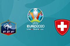 Xem trực tiếp Pháp vs Thụy Sĩ ở đây