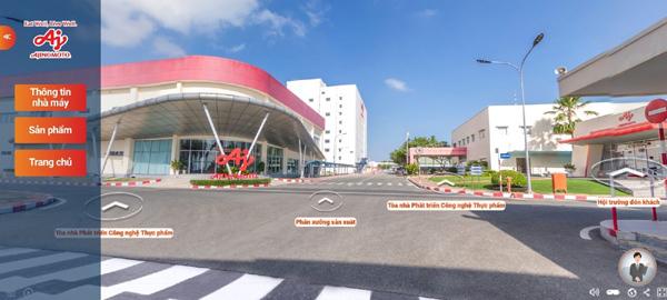Công nghệ VR 'dẫn lối' người dùng tham quan nhà máy Ajinomoto