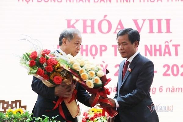 Phó Bí thư Tỉnh ủy giữ chức Chủ tịch UBND tỉnh Thừa Thiên - Huế