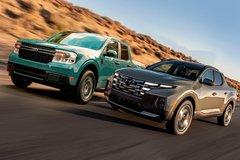 Hyundai Santa Cruz vs Ford Maverick - mở đầu phân khúc bán tải đô thị