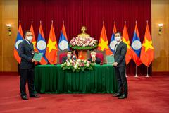 VinFast 'bắt tay' Phongsubthavy phân phối xe ô tô tại Lào