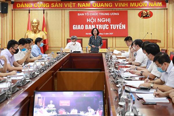 Ban Tổ chức Trung ương thẩm định nhân sự cơ cấu Chính phủ nhiệm kỳ mới