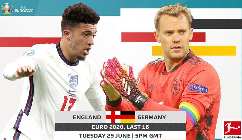 Thống kê thành tích đối đầu giữa Anh vs Đức và những con số cần biết