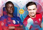 Link xem trực tiếp Pháp vs Thụy Sỹ, 2h ngày 29/6