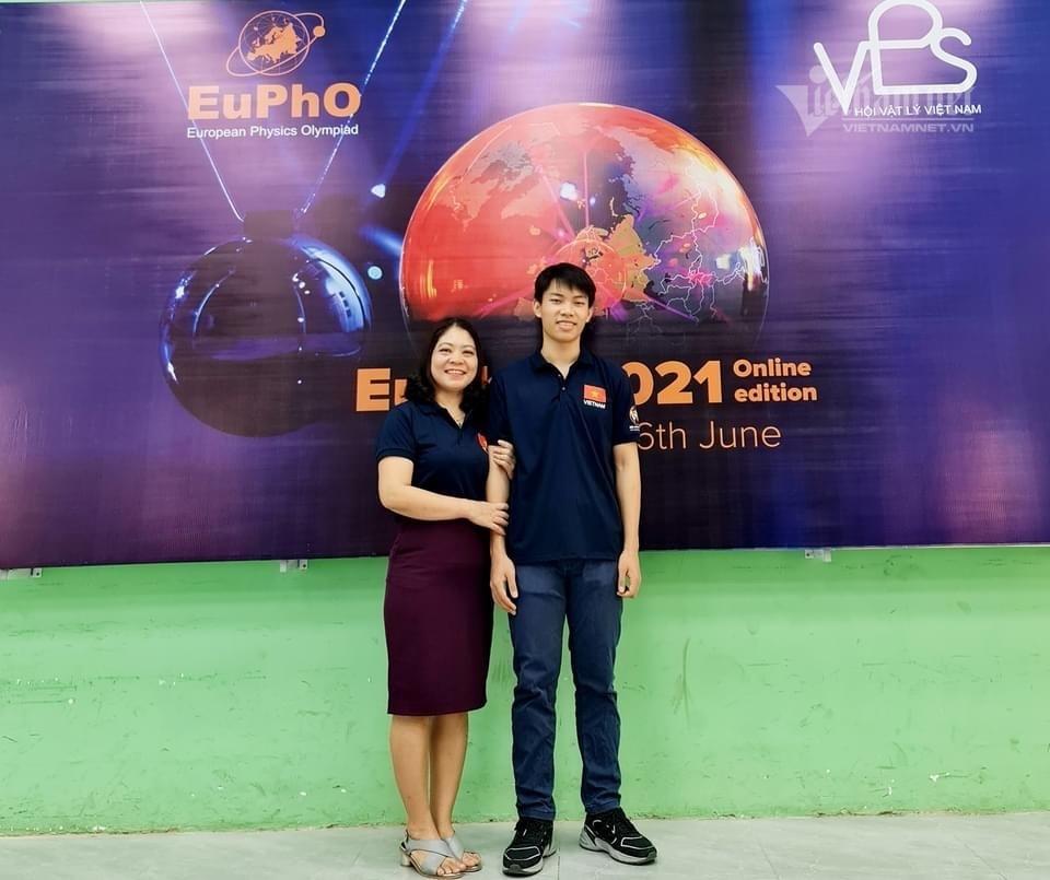 Nam sinh Phú Thọ giành huy chương Vàng Vật lý quốc tế