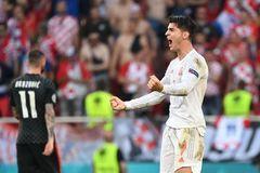 Video Croatia 3-5 Tây Ban Nha: Tuyệt phẩm quyết định của Morata