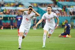 Video bàn thắng Pháp 3-3 Thụy Sĩ (pen 4-5)