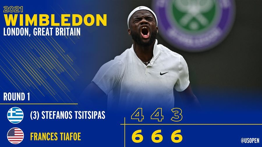 Tsitsipas thua sốc ngay vòng 1 Wimbledon 2021