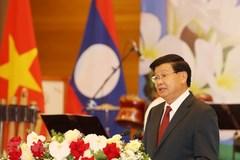 Diễn văn đáp từ của Tổng Bí thư, Chủ tịch nước Lào tại chiêu đãi