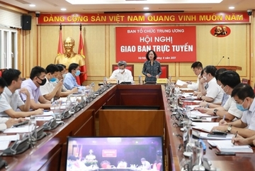 Ban tổ chức các tỉnh, thành ủy tích cực tham mưu cụ thể hóa, triển khai thực hiện Nghị quyết Đại hội XIII