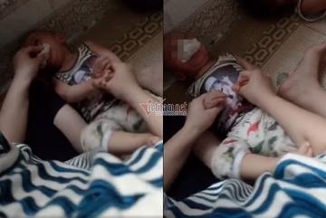 Khởi tố hình sự vụ bé 12 tháng bị nhét giẻ vào miệng ở Thái Bình