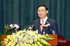Chủ tịch QH: Nghiên cứu chính sách đặc thù để Hải Phòng phát triển nhanh, bền vững