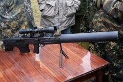 Uy lực súng bắn tỉa 'ống xả' của đặc nhiệm Nga