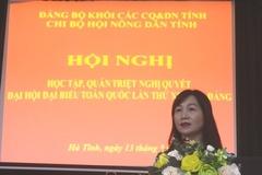 Hội Nông dân Hà Tĩnh tổ chức quán triệt Nghị quyết Đại hội XIII