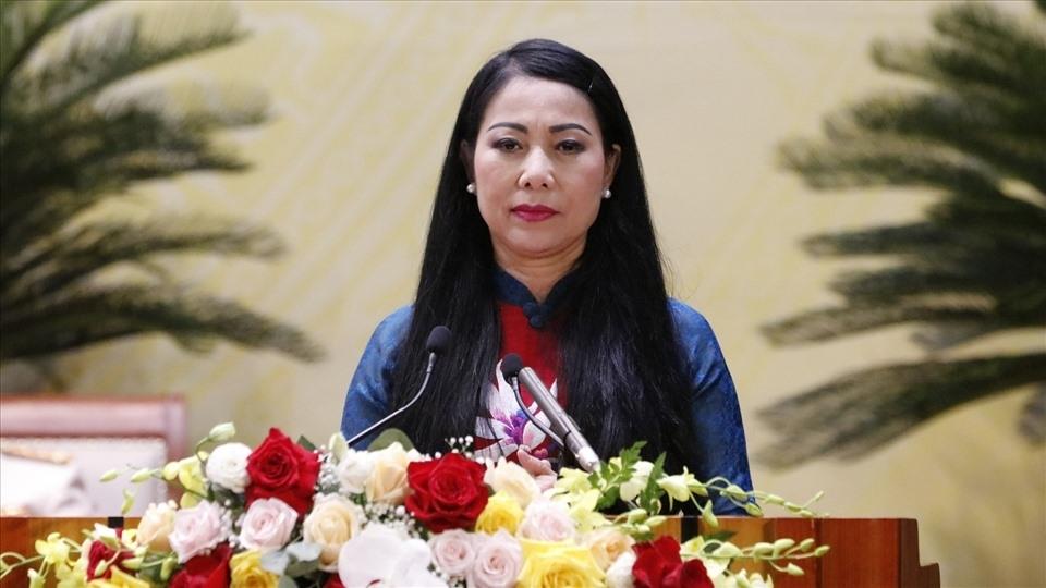 Bà Hoàng Thị Thúy Lan tiếp tục giữ chức Chủ tịch HĐND tỉnh Vĩnh Phúc
