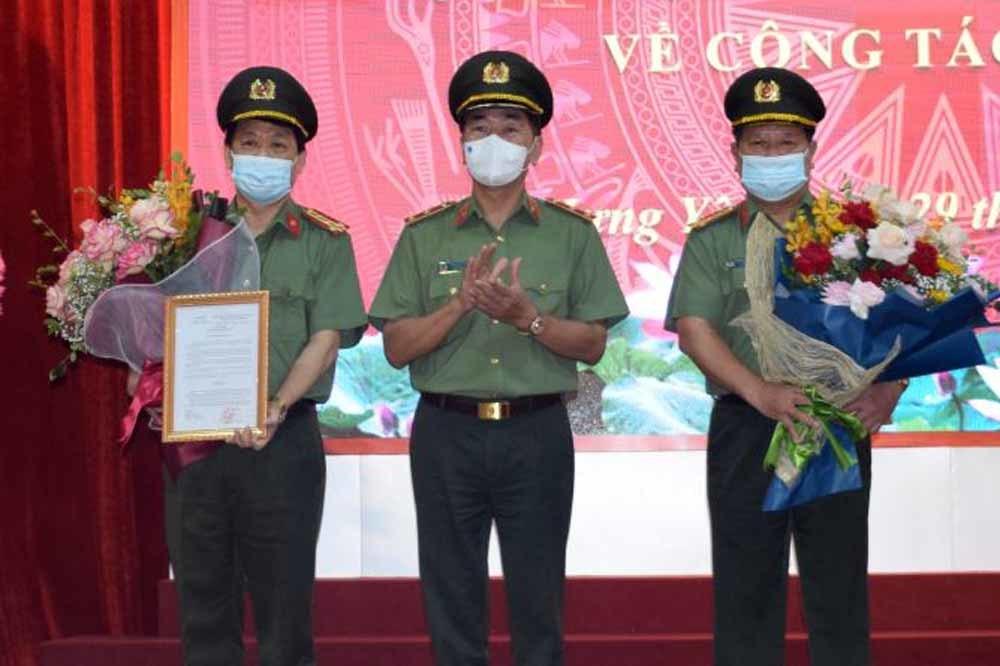 Giám đốc Công an Hưng Yên làm Cục trưởng Cục Viễn thông và Cơ yếu Bộ Công an