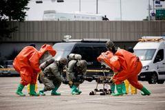 Hàn Quốc diễn tập chống máy bay không người lái tấn công
