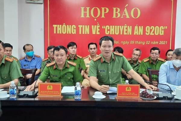 Giám đốc Công an Đồng Nai Vũ Hồng Văn được thăng hàm Thiếu tướng