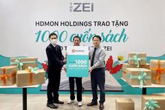 HDMon Holdings tặng hơn 1.000 cuốn sách cho thư viện dự án The Zei