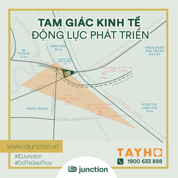 Nhà ở cho chuyên gia - 'gà đẻ trứng vàng' ở trung tâm Long Thành